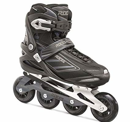 Roces Men's IZI Sporty Fitness Inline Skates Blades Black-Charcoal. 400799 00001 Review