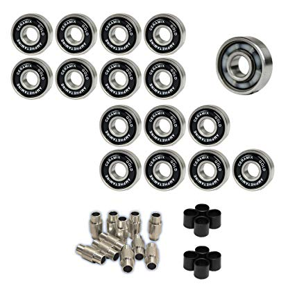 Amphetamine Roller Hockey Bearings Inline Skate SPEED KIT Ceramic Gold