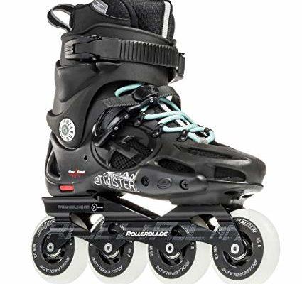 Rollerblade Twister 80 2017 Urban Twincam ILQ 7 Plus Bearings Inline Skates Review