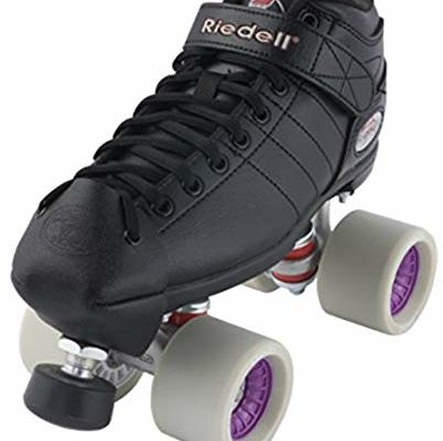 Riedell R3 Derby Plus Quad Roller Speed Skates w/ Wide Purple Presto Wheels Review
