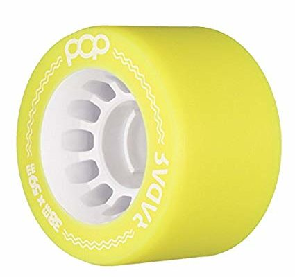 Radar Pop – Roller Derby and Speed Skate Quad Roller Skate Wheels 59mmx 38mm (88A-95A) Review