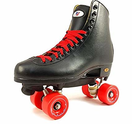 Riedell 111 Boost Rhythm Black Roller Skates with Your Choice of Riva Wheels (Black, Pink, Red, or White) Review