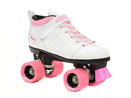 Chicago Bullet Quad Speed Skates White with Pink Laces Review