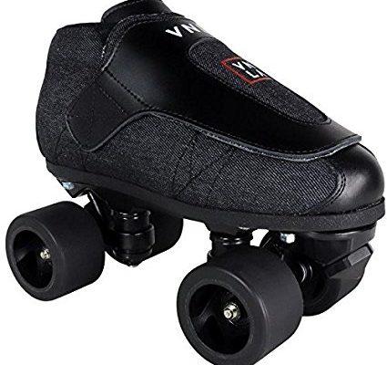 VNLA Stealth Jam Skate Mens & Womens Skates – Roller Skates for Women & Men – Adjustable Roller Skate/Rollerskates – Outdoor & Indoor Adult Skate – Kid/Kids Skates (Grey/Black) Review
