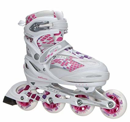 Roces Kid's Girls Moody Fitness Inline Skates Blades Color Choices 400778 Review