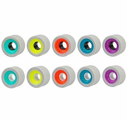 Radar Presto Indoor Roller Derby Skate Wheels – Presto Speed Skate Wheels (purple, 59mm, 8pk) Review