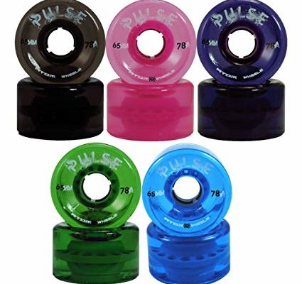 ATOM Pulse Outdoor Quad Skating Wheels Blue Review