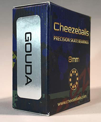Cheezeballs Gouda Skate Bearings 8mm