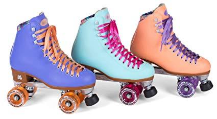 New! Moxi Beach Bunny Indoor / Outdoor Quad Roller Skates + Toe Guards! Review
