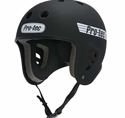 PROTEC Original Full Cut Helmet, Satin Black, X-Large Review