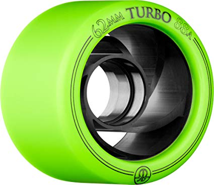 Rollerbones Turbo 88A Speed/Derby Wheels with an Aluminum Hub (Set of 8) Review