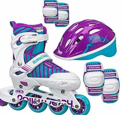 Roller Derby Carver Girls Inline/Protective Skate Pack Medium (3-6) Review